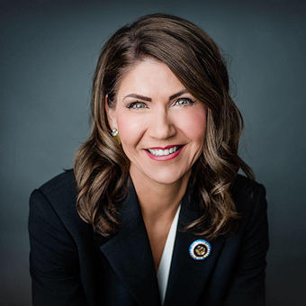 South Dakota Governor Kristi Noem