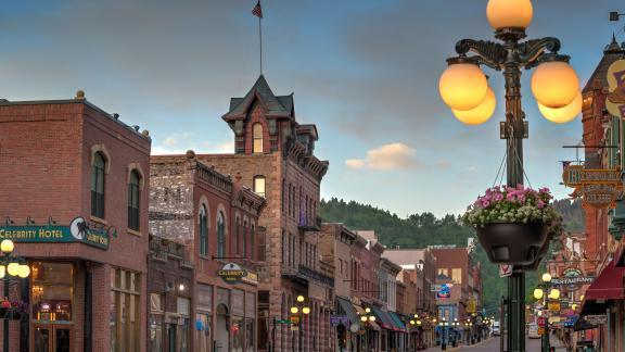 Historic Deadwood Main Street