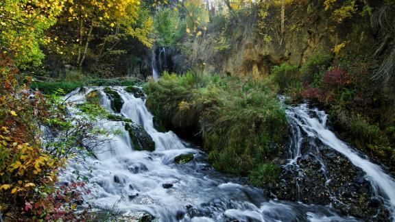 Spearfish Canyon Waterfalls