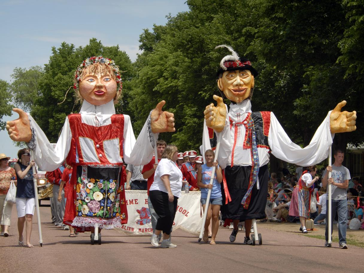 Parade at Czech days