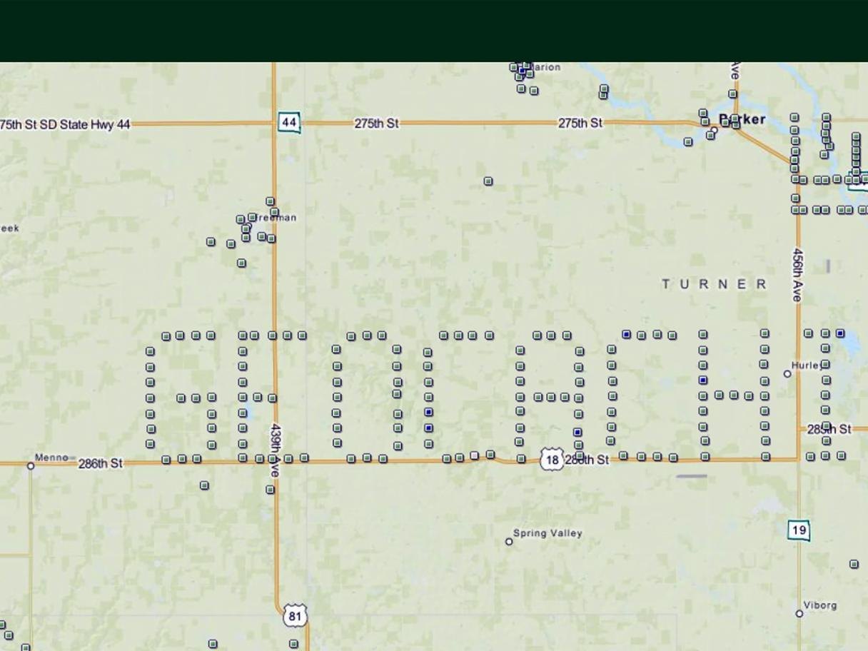 Geocaching Trail Map