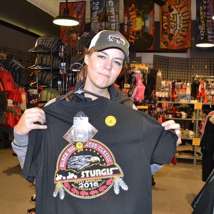 Sturgis rally gear, shopping