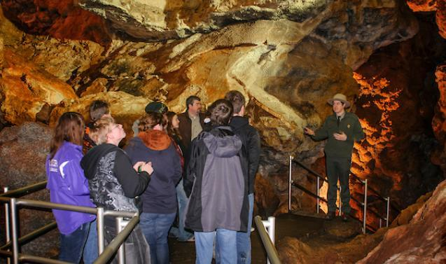 Jewel Cave Interior