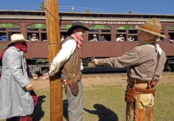 1880 Train Old West Shootout
