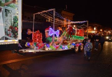 Annual Festival of Lights Parade
