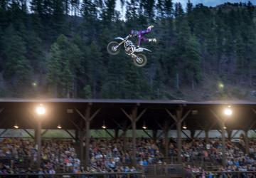 Deadwood All-In Freestyle Motocross Show