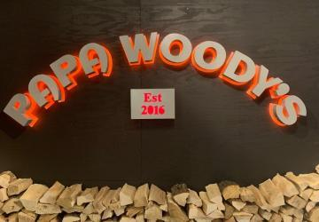 Papa Woody's Wood Fired Pizza, Sioux Falls