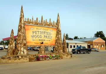 Petrified Wood Park & Museum, Lemmon