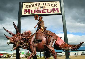 Grand River Museum, Lemmon, photo by John Lopez