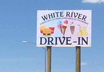 White River Drive-In, White River