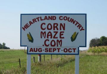 Heartland Country Corn Maze, Harrisburg