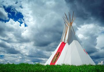 South Dakota tipi