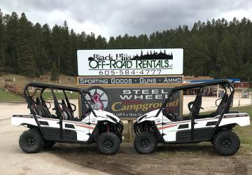 Black Hills Off-Road Rentals, Deadwood