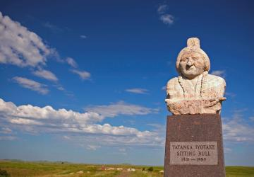 Sitting Bull Monument, near Mobridge