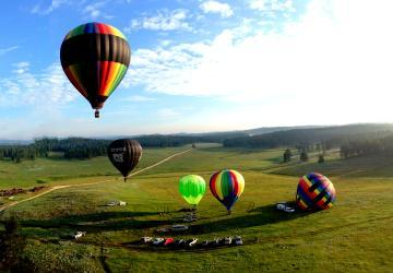 Balloon Ride, Custer