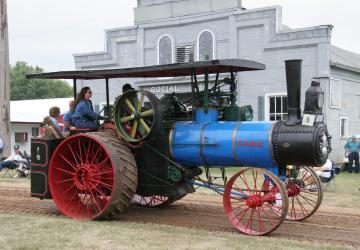Prairie Village Steam Tractor