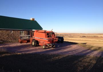 Medicine Creek B&B, with combine