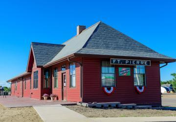 Fort Pierre Depot and Museum, Fort Pierre