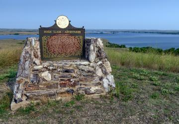 Hugh Glass Monument, Shadehill