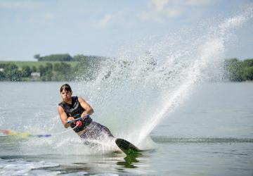 Lake Madison water skiing