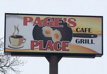 Page's Place Café & Grill, Watertown