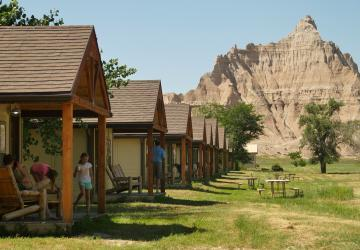Cedar Pass Lodge, Badlands