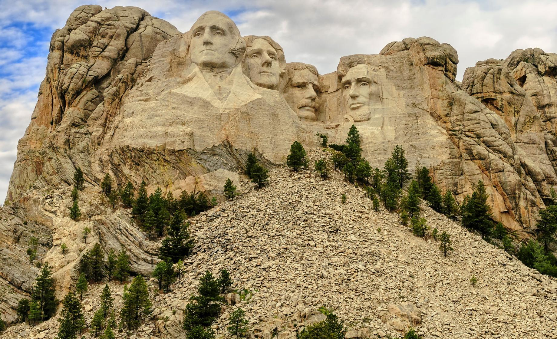 Mount Rushmore National Memorial near Keystone, South Dakota