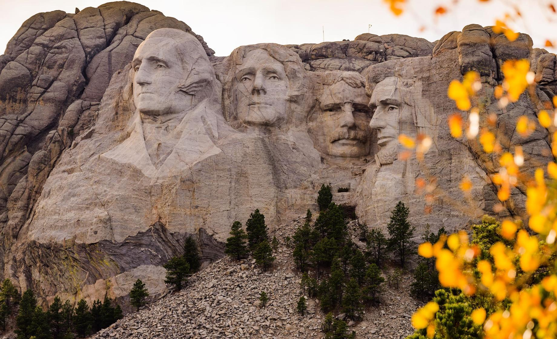 Mount Rushmore National Memorial Fall Colors 11-02-16