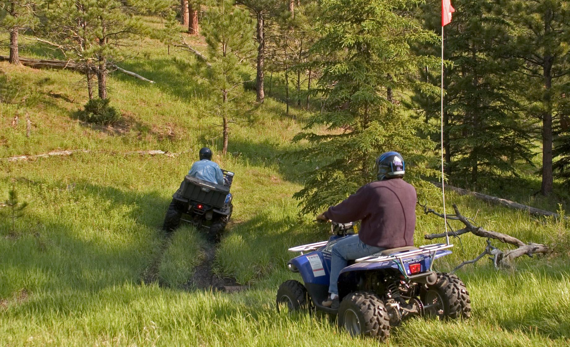 ATV Riding in the Northern Black Hills   Travel South Dakota