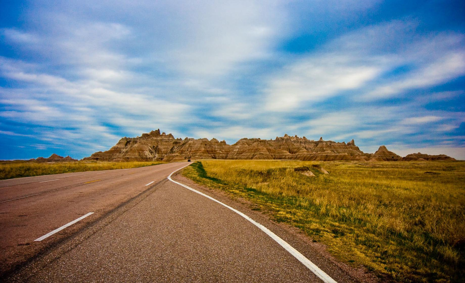 Badlands Roads