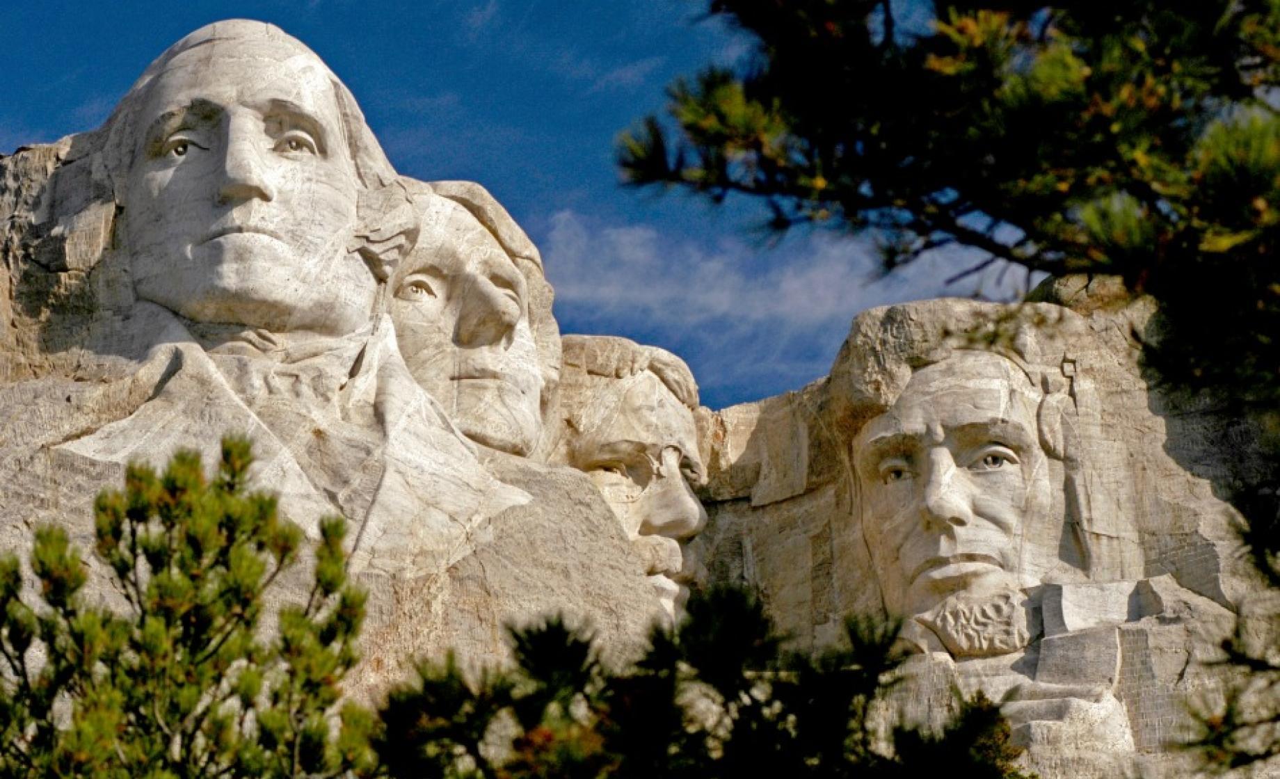 Gutzon Borglum; Mount Rushmore; 1941; granite - Yelp
