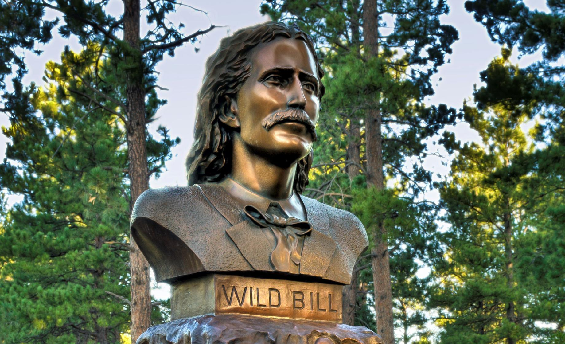 Wild Bill Hickok, Historic Deadwood