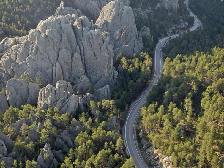 Black Hills, Peter Norbeck National Scenic Byway