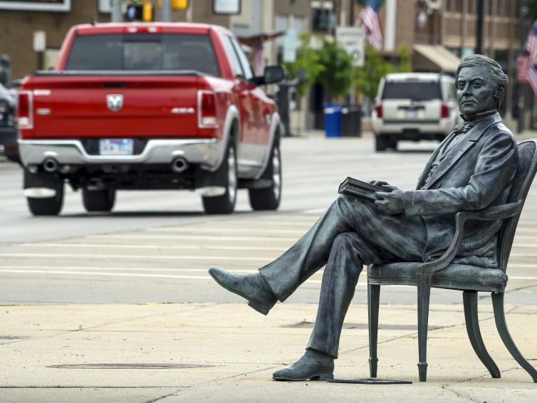 City of Presidents, sculpture