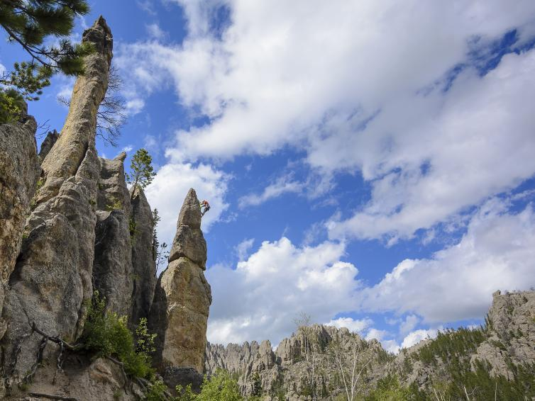 Rock climbing, Needles, Black Hills