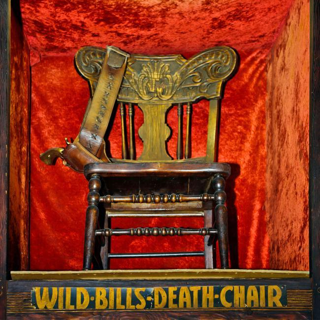Wild Bills Death Chair Saloon 10 Deadwood