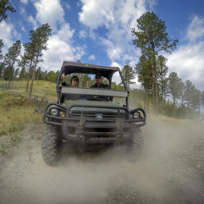 ATV Riding in the Northern Black Hills | Travel South Dakota