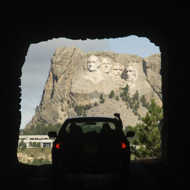 Iron Mountain Road, Mount Rushmore
