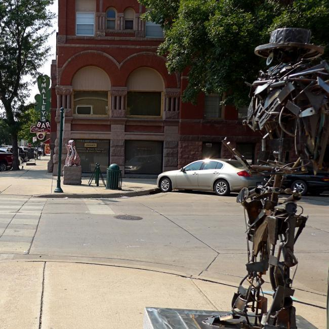 Sculpture in Yankton