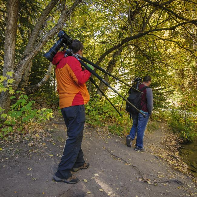 Photographers in Spearfish Canyon