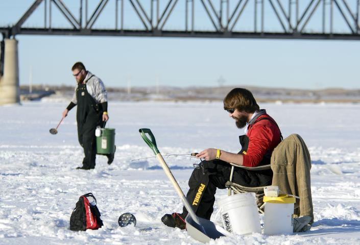 Mobridge Ice Fishing