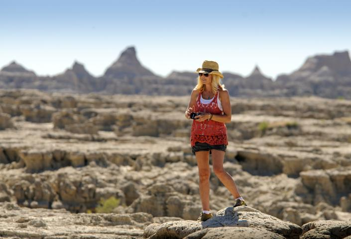 Hiking Badlands