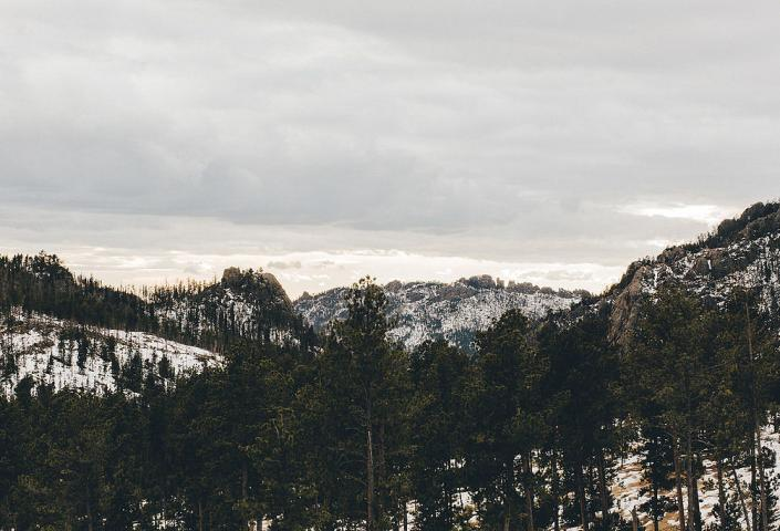 Black Hills, Winter
