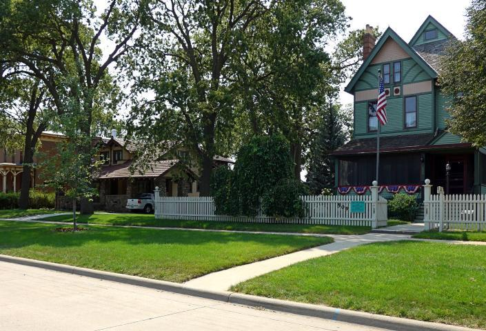 Yankton historic district