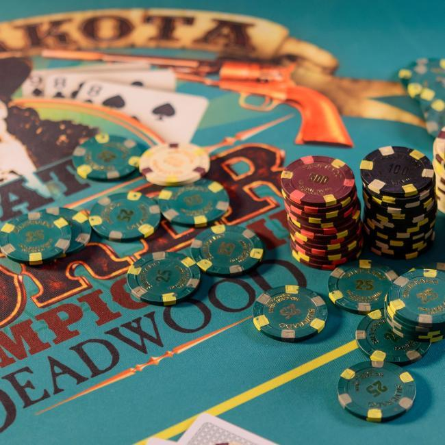 Gaming chips Deadwood