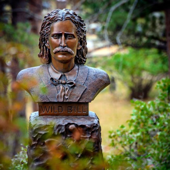 Wild Bill Hickok Grave Mount Moriah Cemetery Deadwood