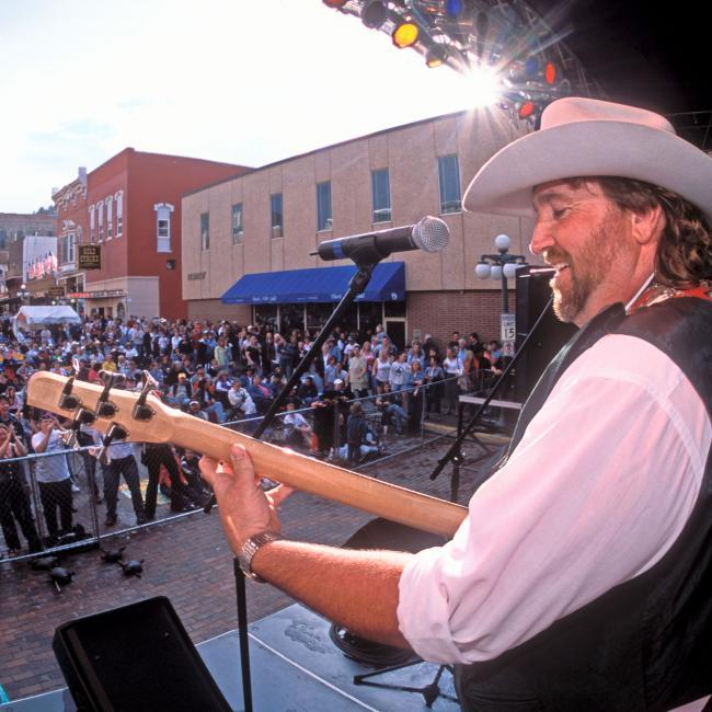 Live Music Wild Bill Days Main Street Deadwood