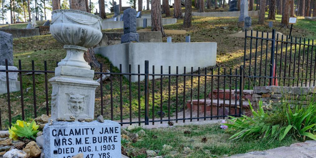 Calamity Jane Grave Mount Moriah Cemetery Deadwood