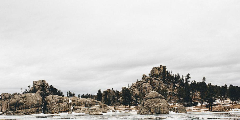 Sylvan Lake in Winter