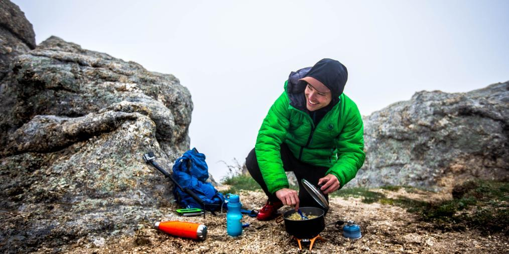 Cooking at Black Elk Peak